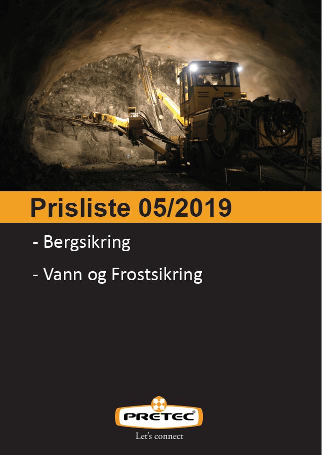 forside bergsikringskatalog 2019